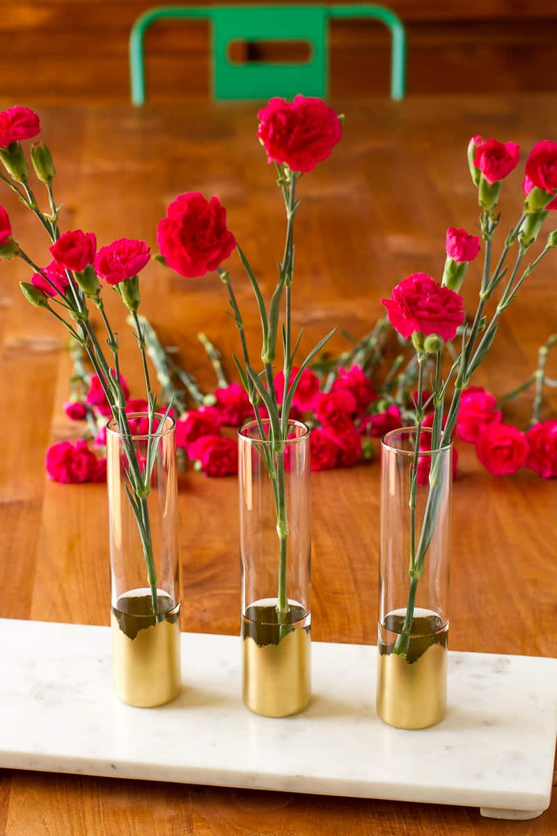 Bud vases diy