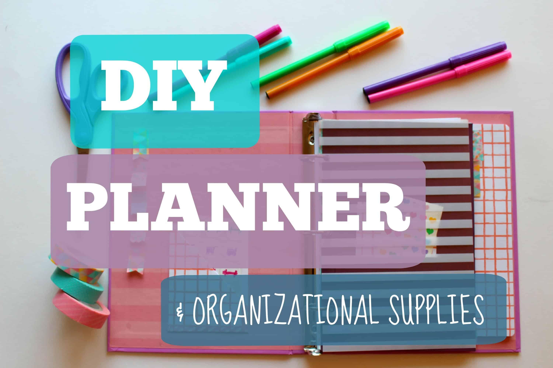 Diy school planner