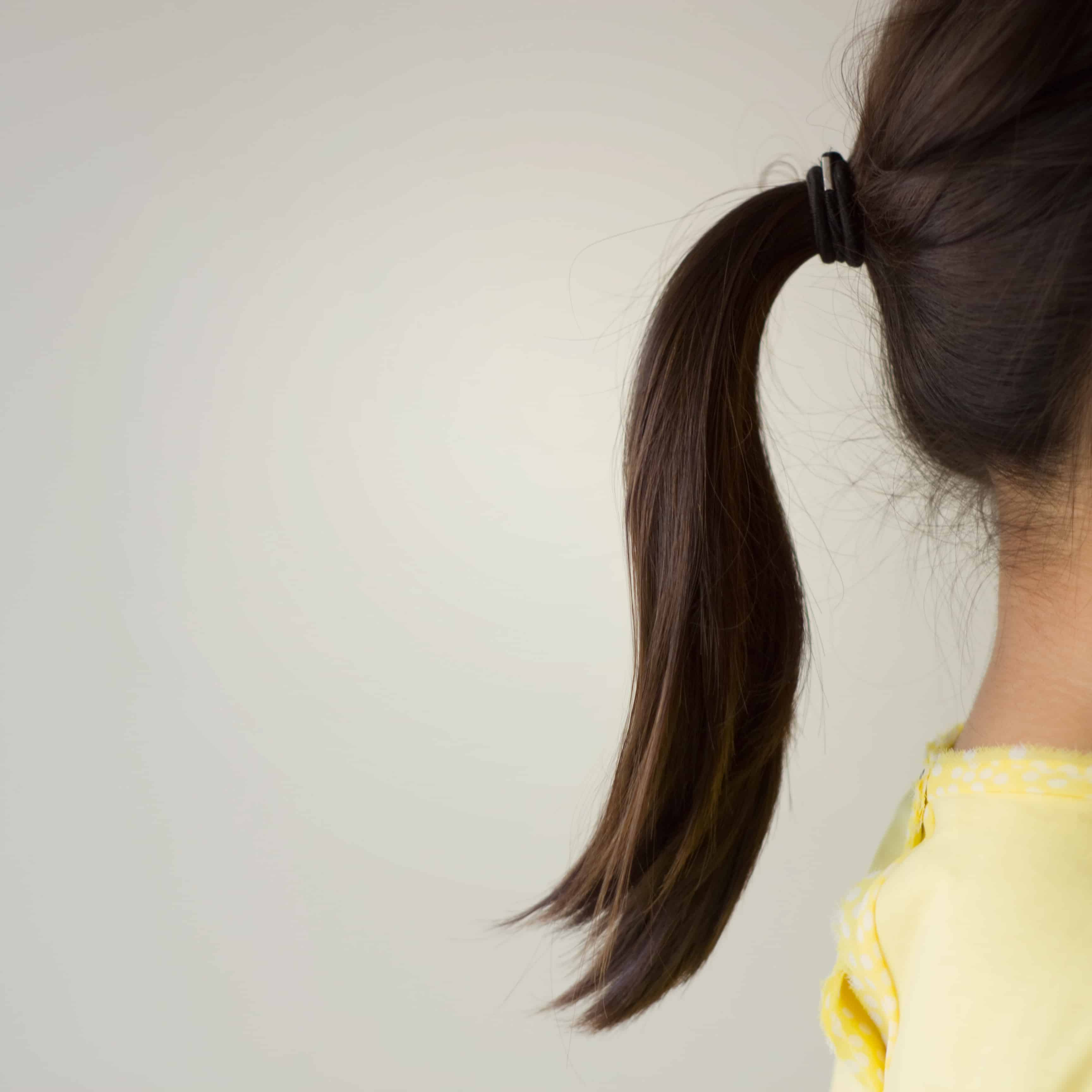 Don't use tight ponytail holders