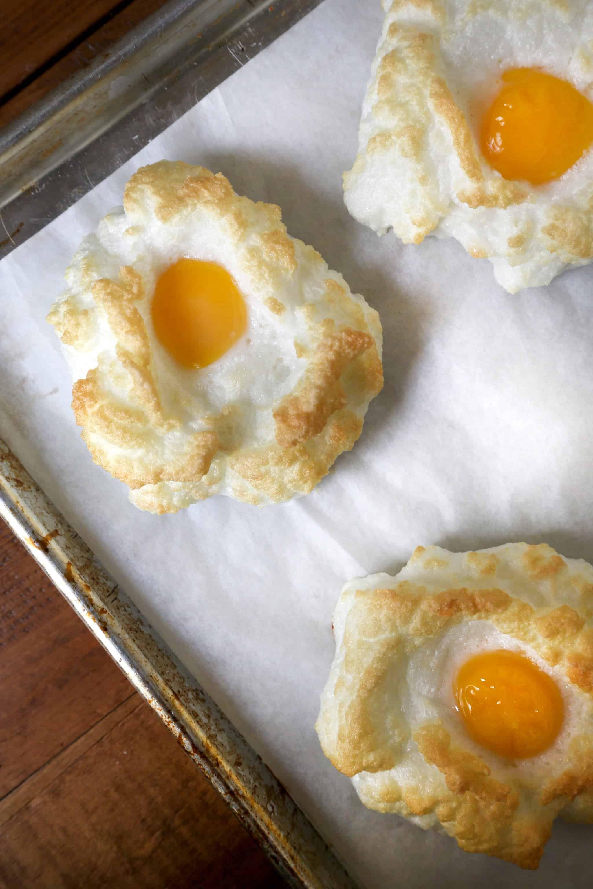Egg clouds recipe