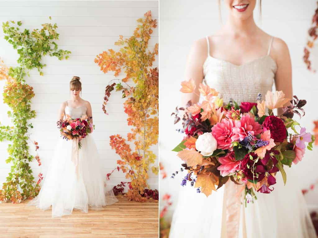15 fall wedding flowers we love fall wedding backdrop junglespirit Gallery