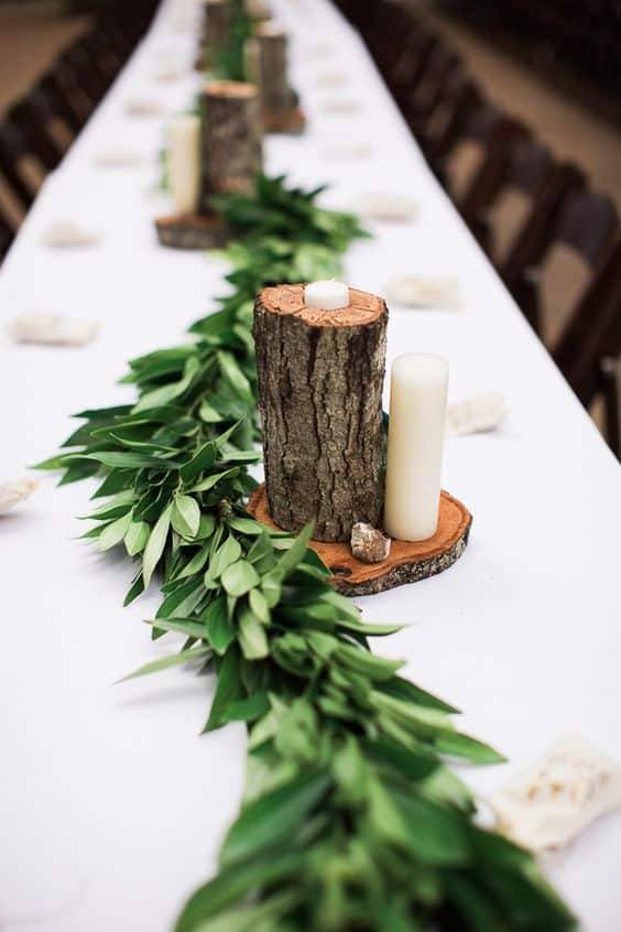 15 simple diy fall wedding decorations fall wedding centerpiece idea junglespirit Images