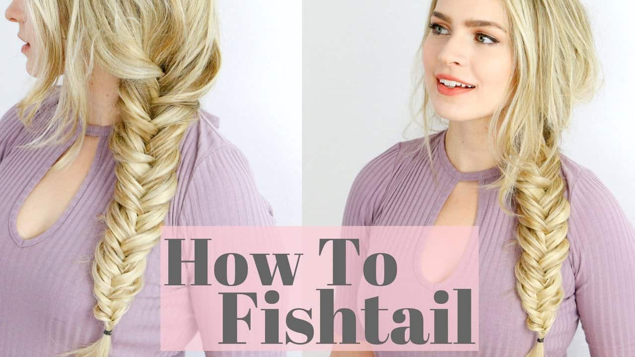 how to fish tail braid - photo #21