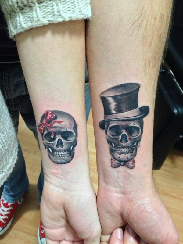 Jolly roger wedding tattoo ideas