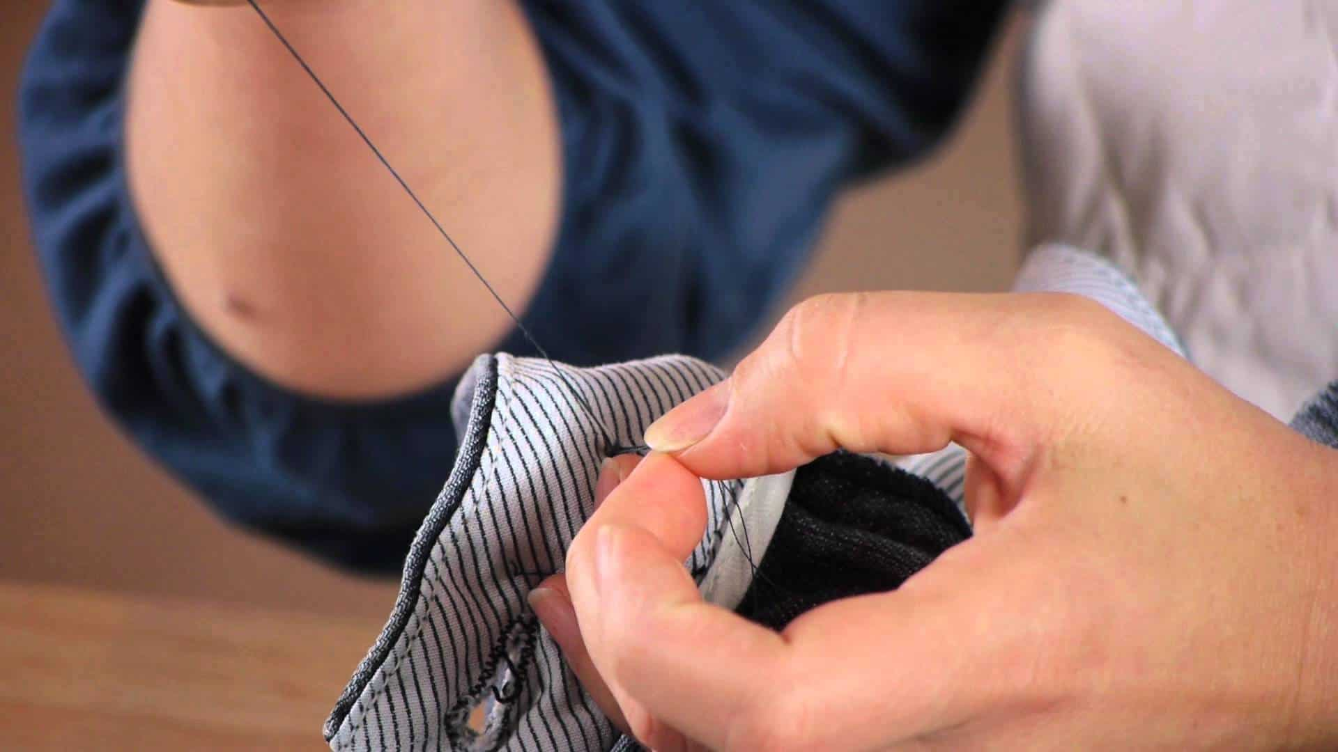 Learn how to sew on a button