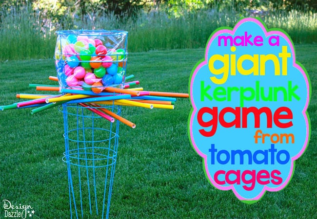 Make a giant kerplunk