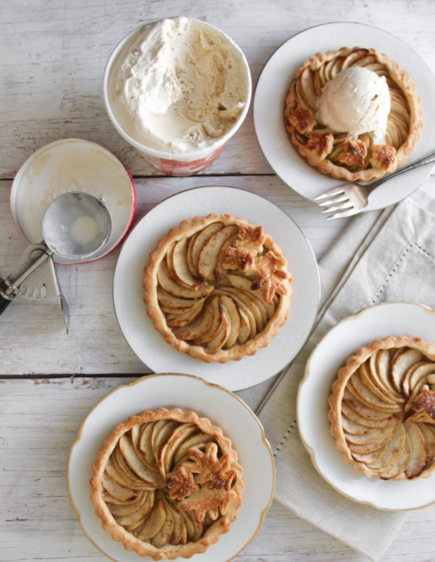 Mini apple tarts recipe