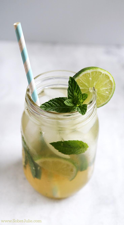 Mojito non alcoholic drink recipe