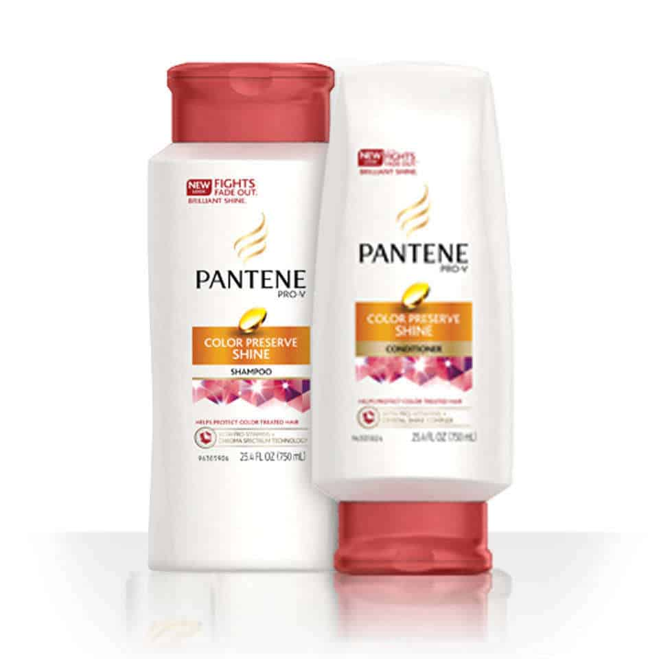Pantee shampoo and condition