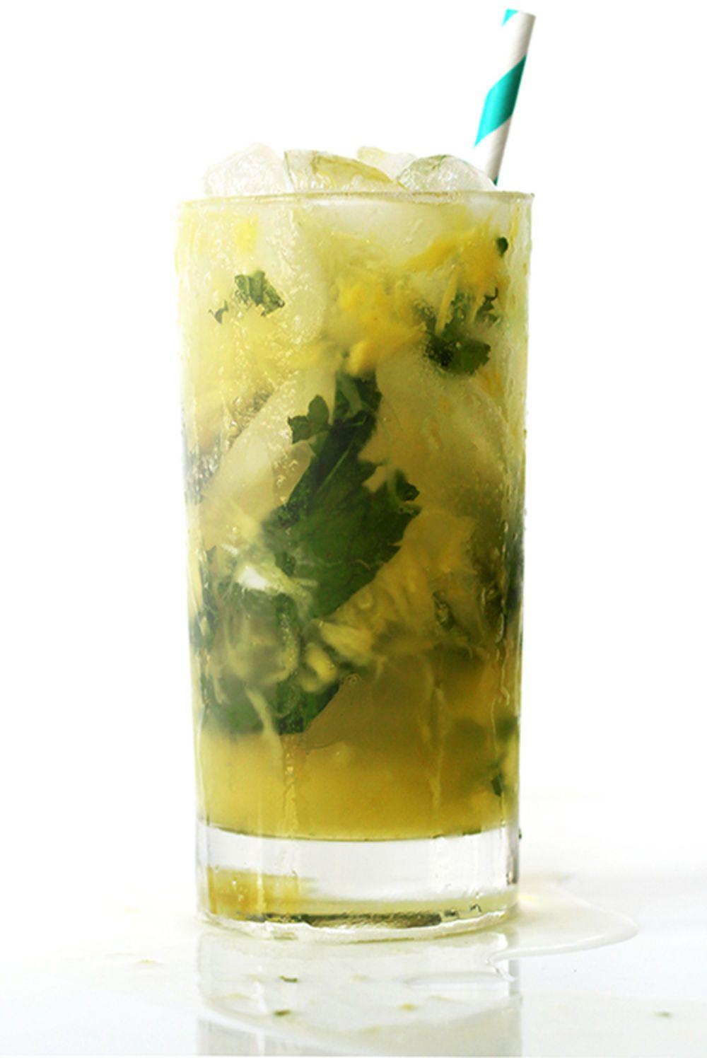 Pineapple mojito recipe