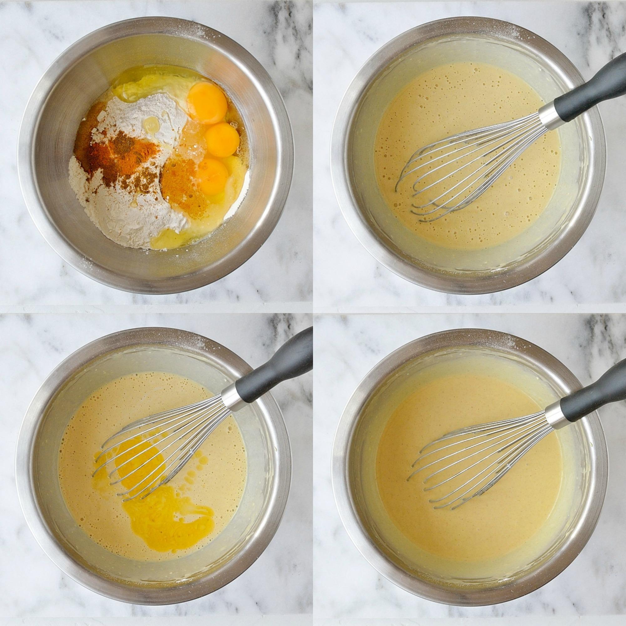 Savoury pancakes step 5