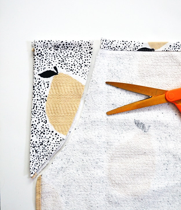 No Sew Tea Towel Apron