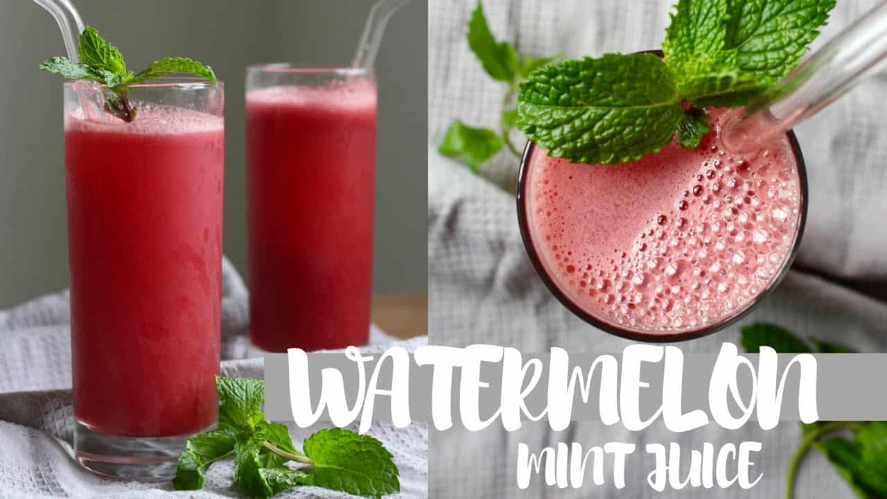 Watermelon mint juicer recipe