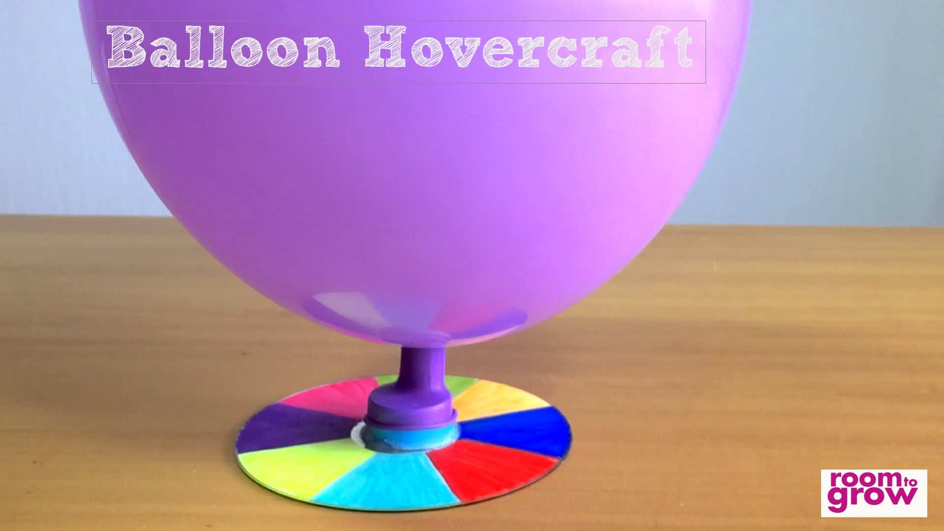 Balloon hover craft