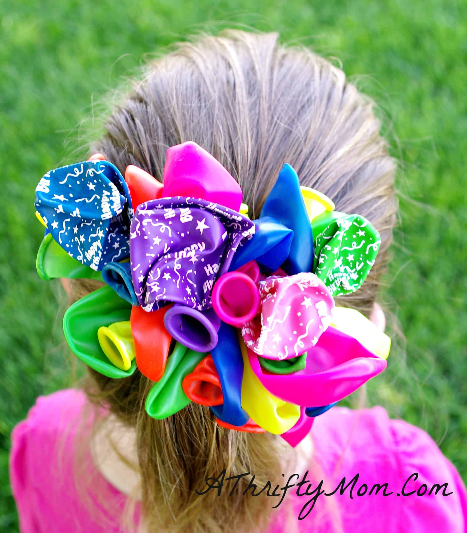 Balloon party barrette