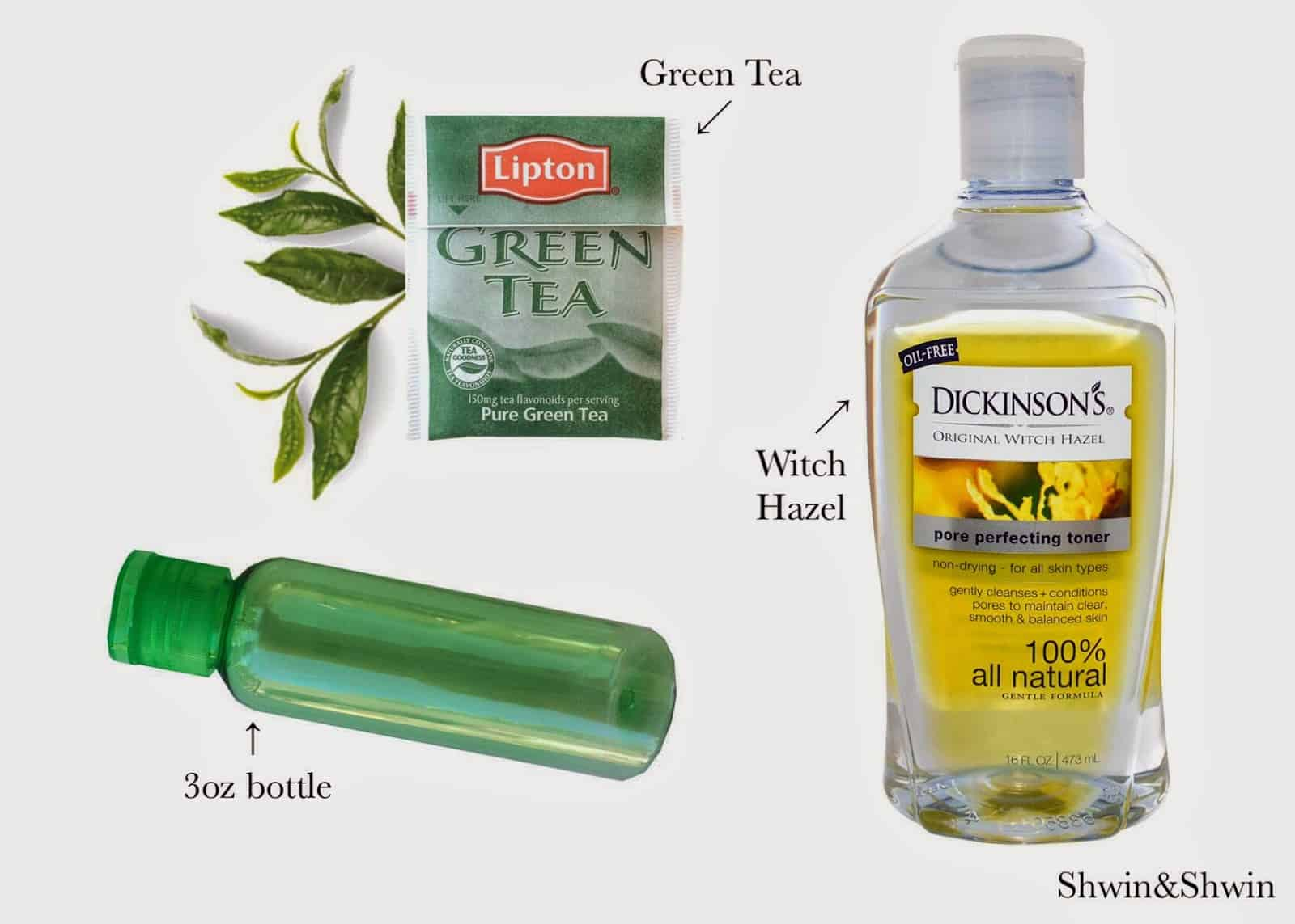 Green tea skin toner