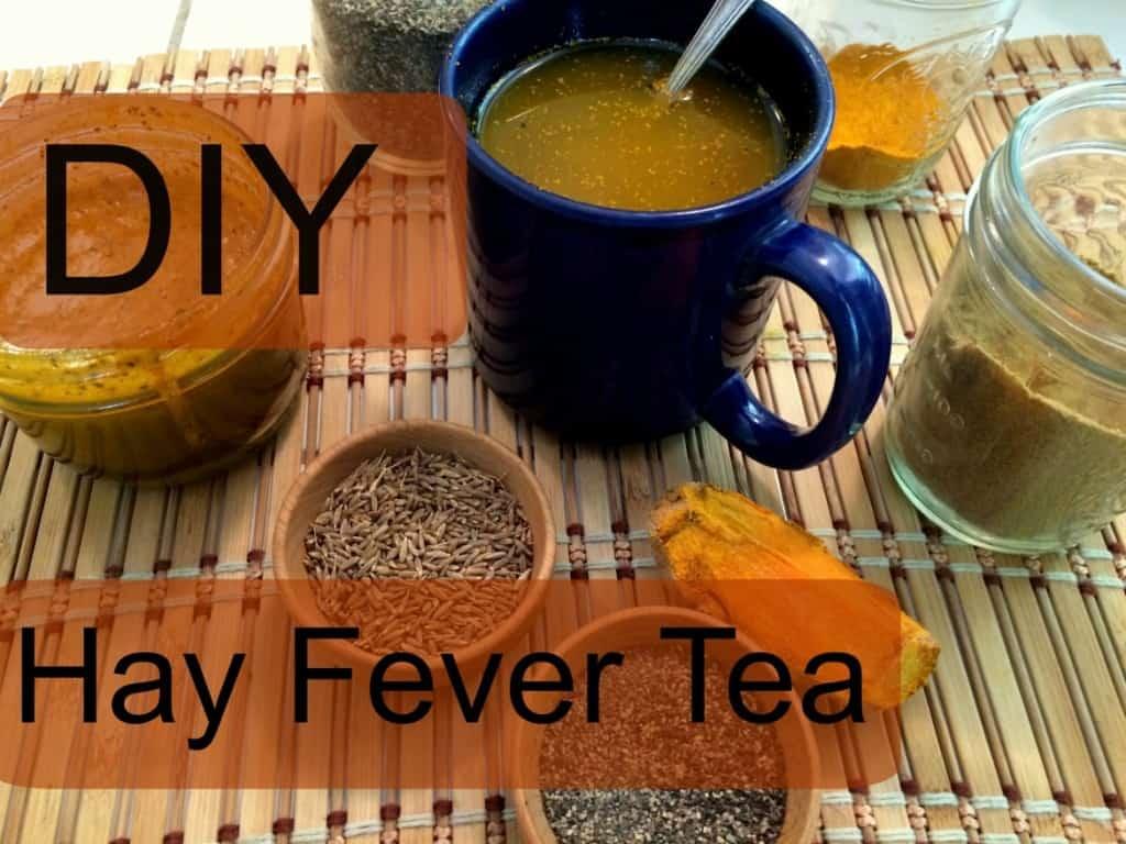 Hay fever tea
