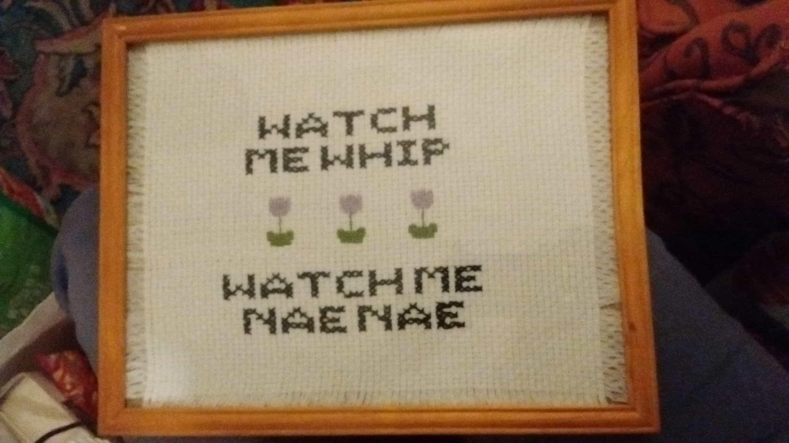 Nae nea cross stitch