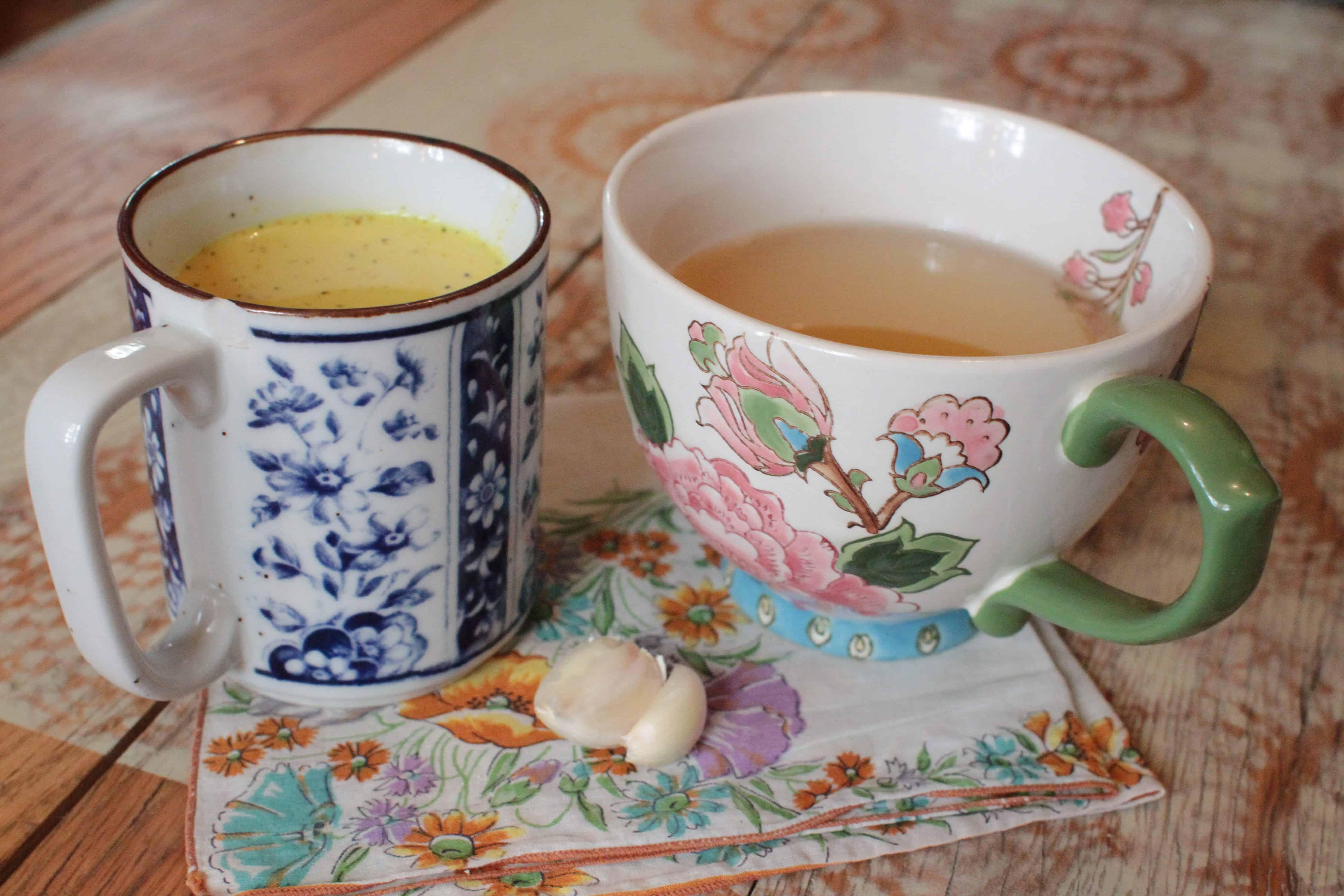 Tonsil infection tea