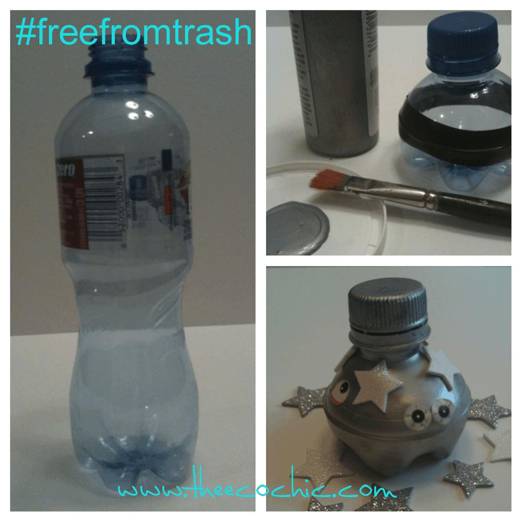 Water bottle ufo
