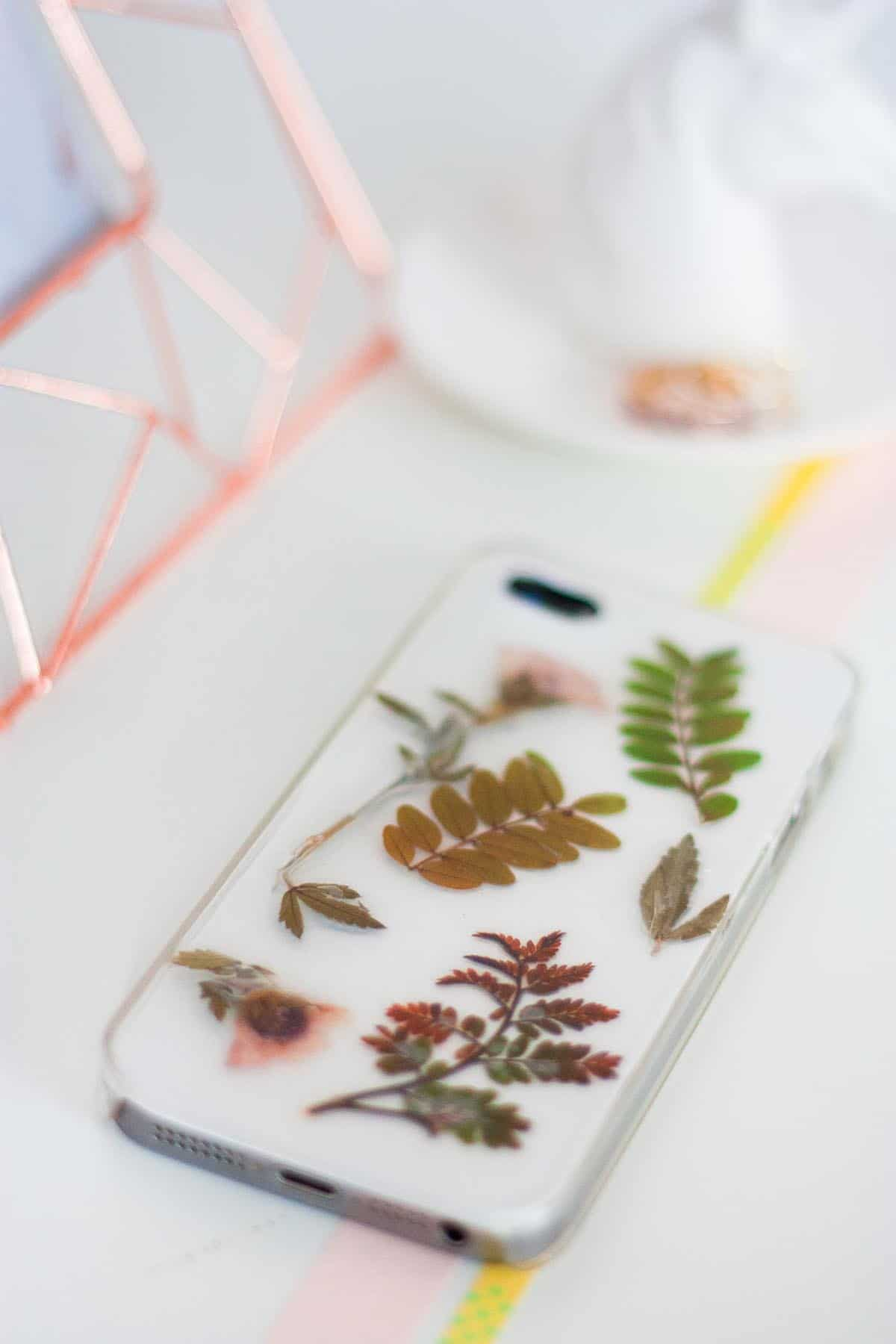 Botanical iphone case diy set2