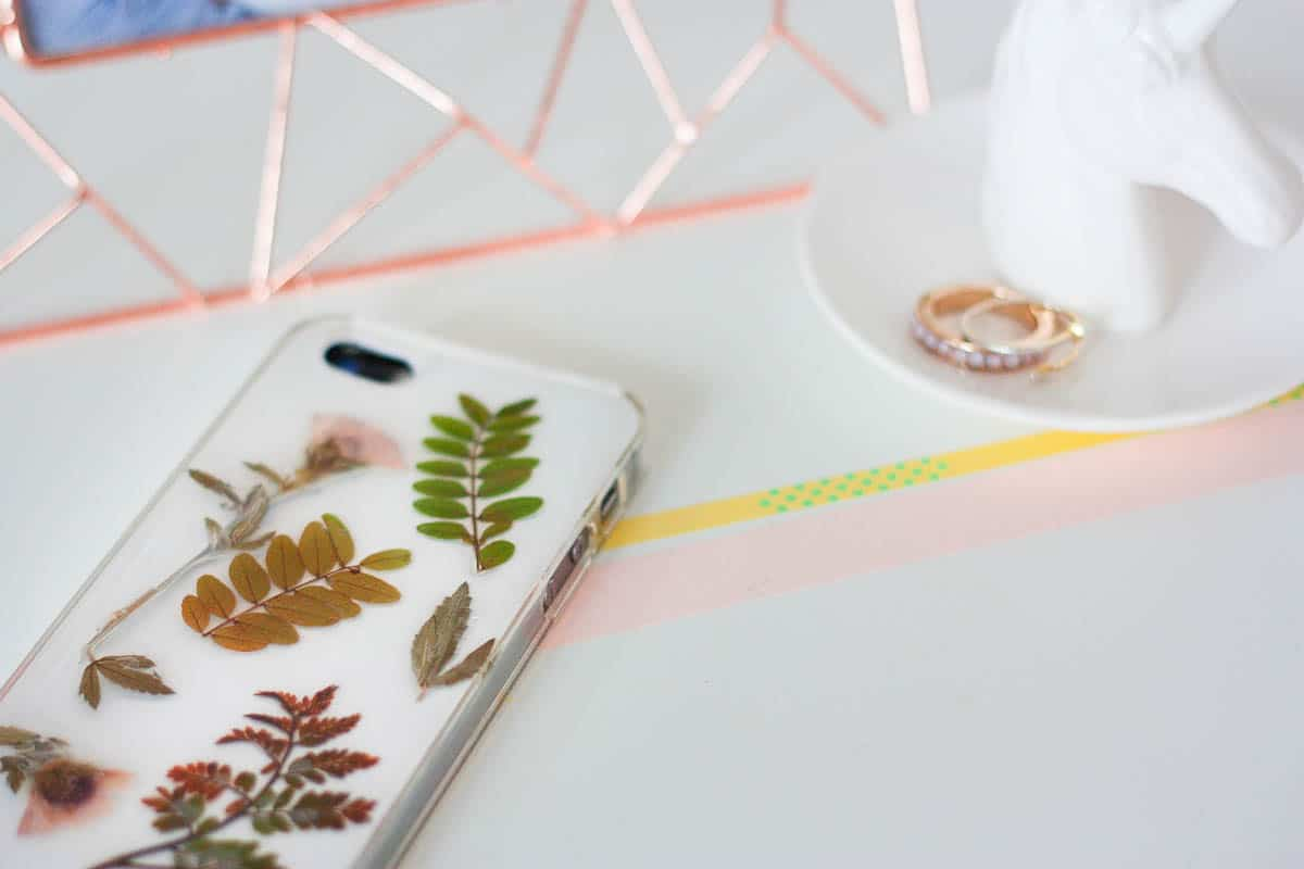Botanical iphone case diy set3