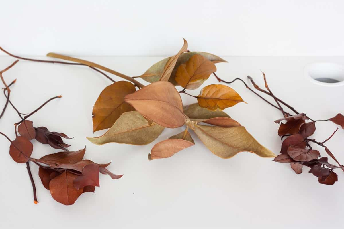 Fall leaf wall hanging groups