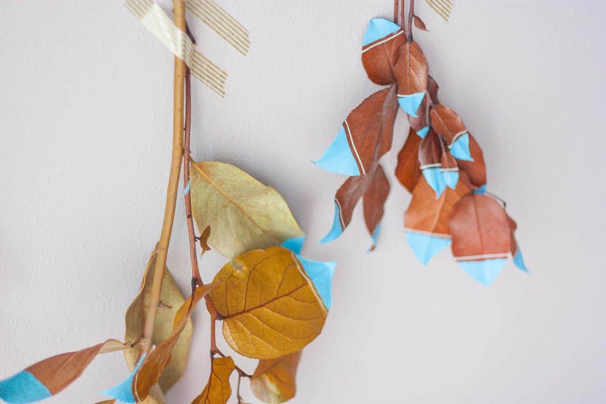 Fall leaf wall hanging set2