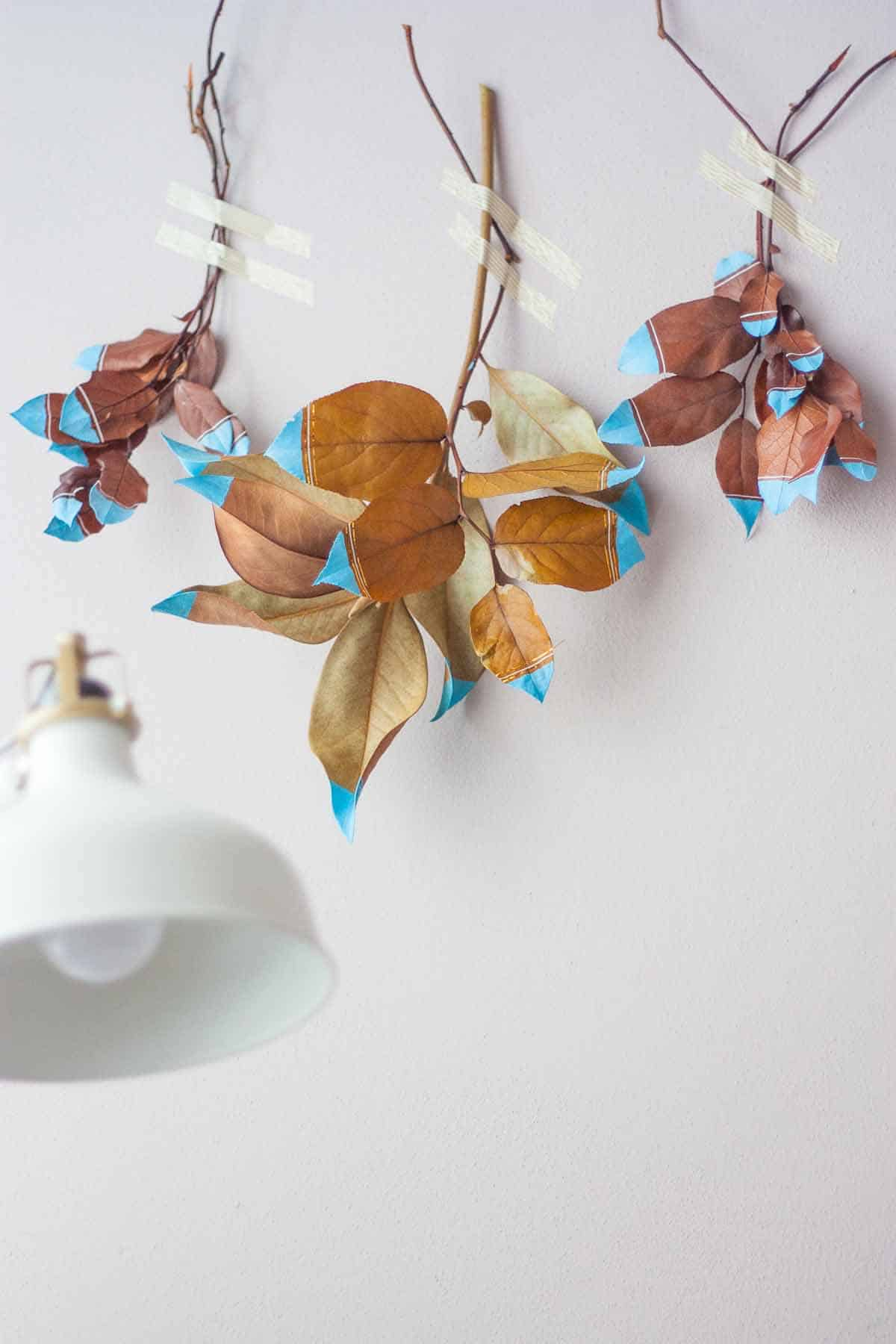 Fall leaf wall hanging set5