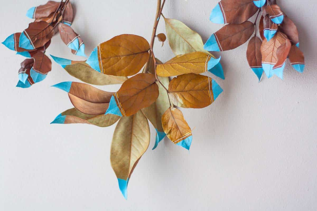 Fall leaf wall hanging set6