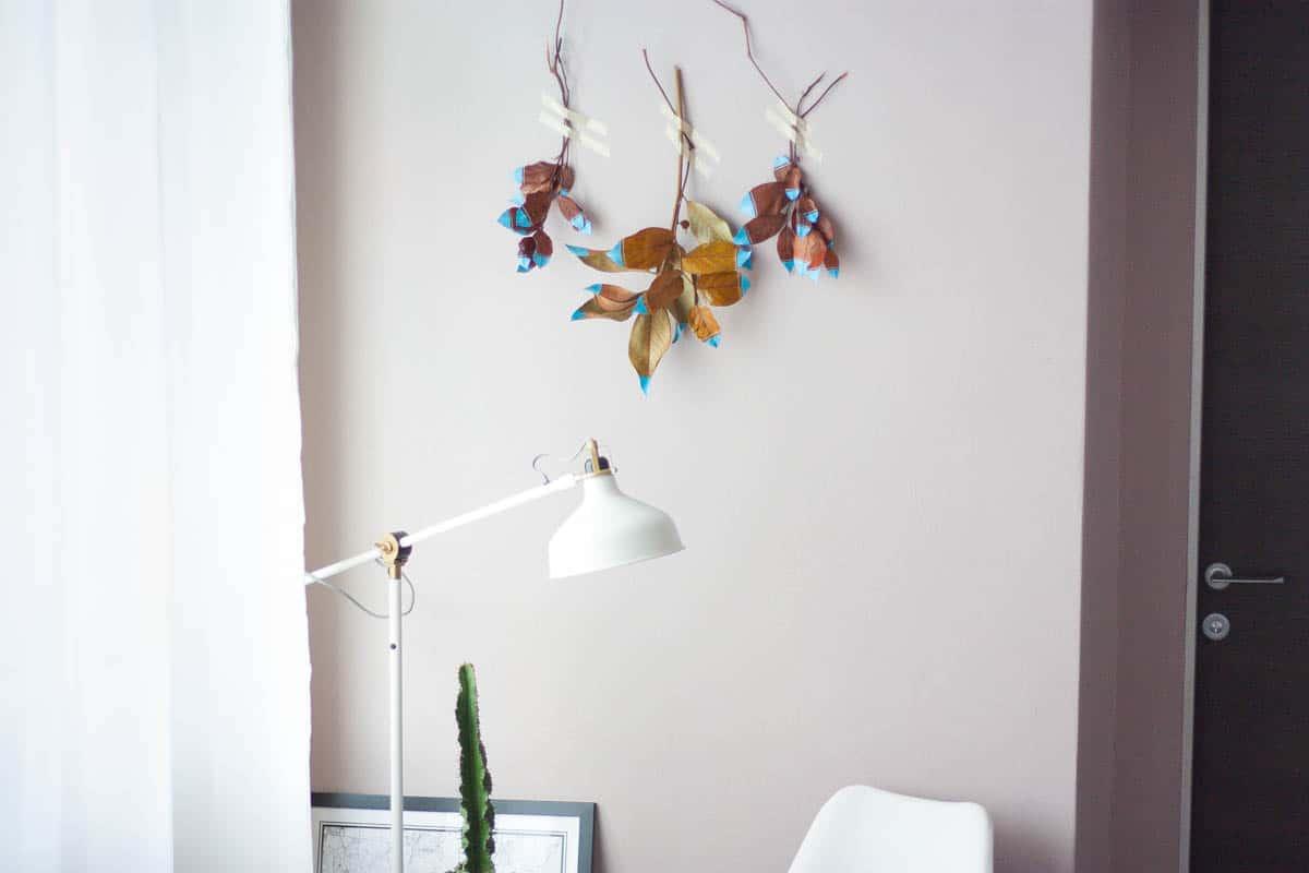 Fall leaf wall hanging set8