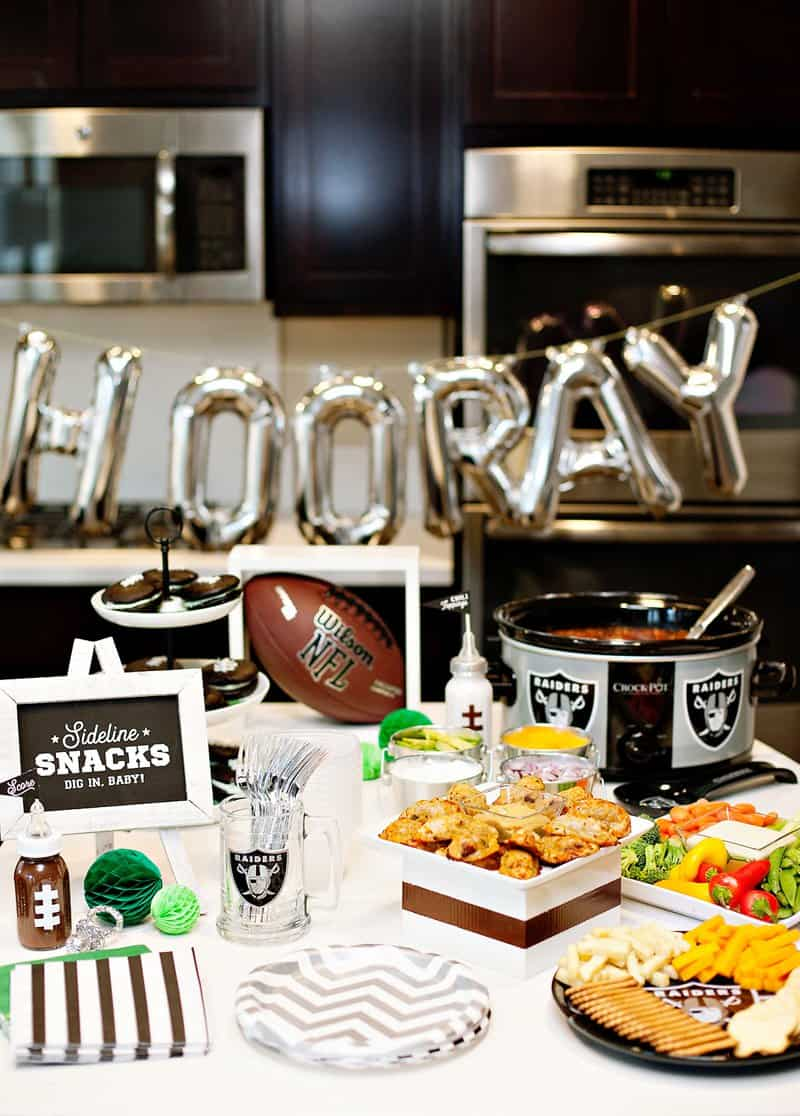 all about football football baby shower idea