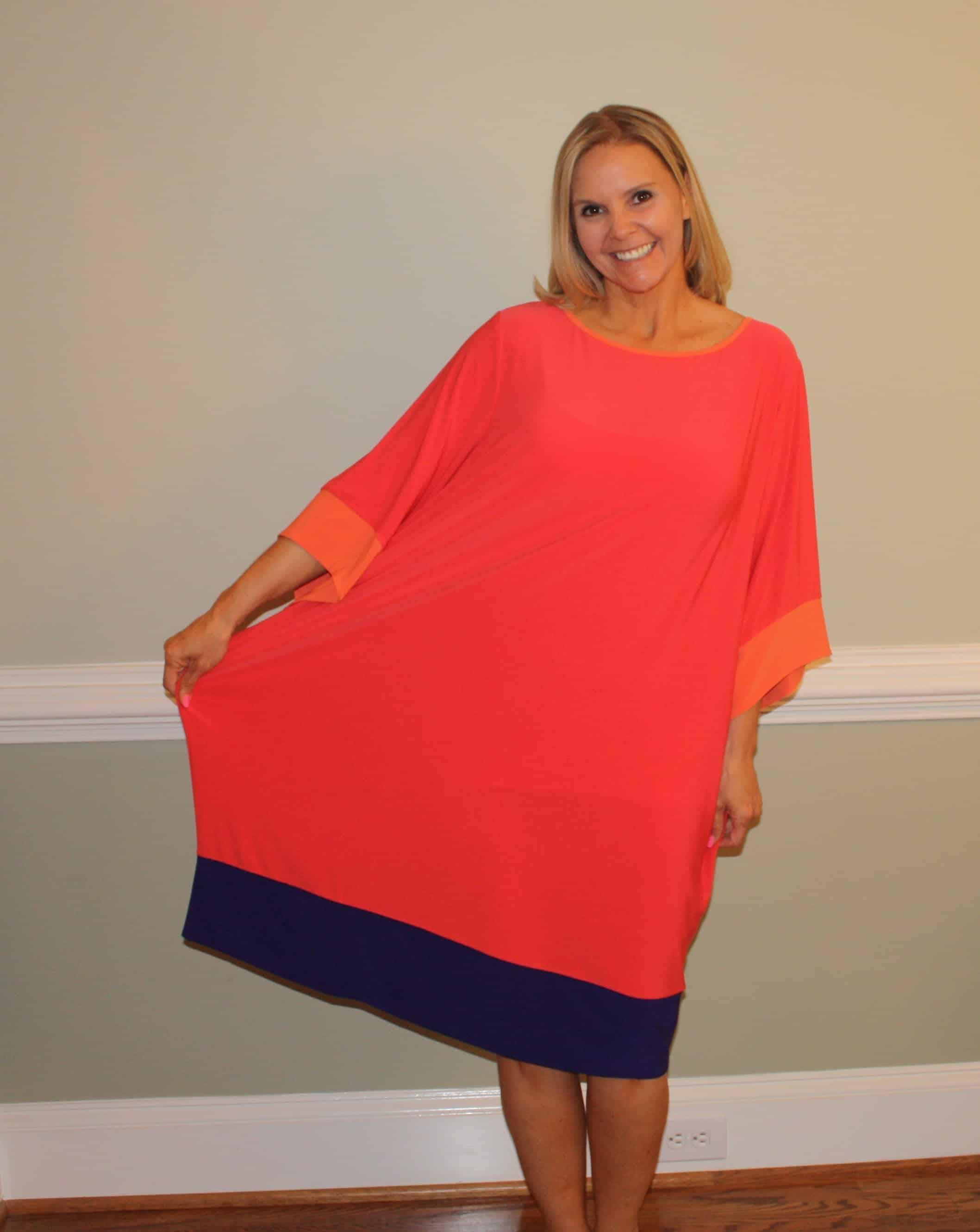 Baggy dress refitting