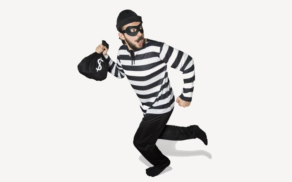 Burglar halloween costume