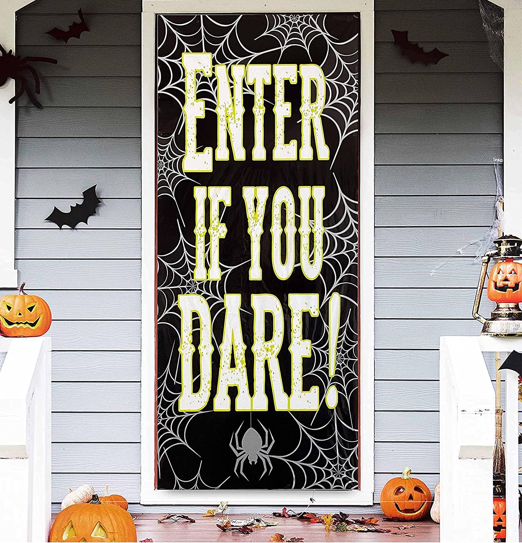 Classroom door decorations enter if you dare