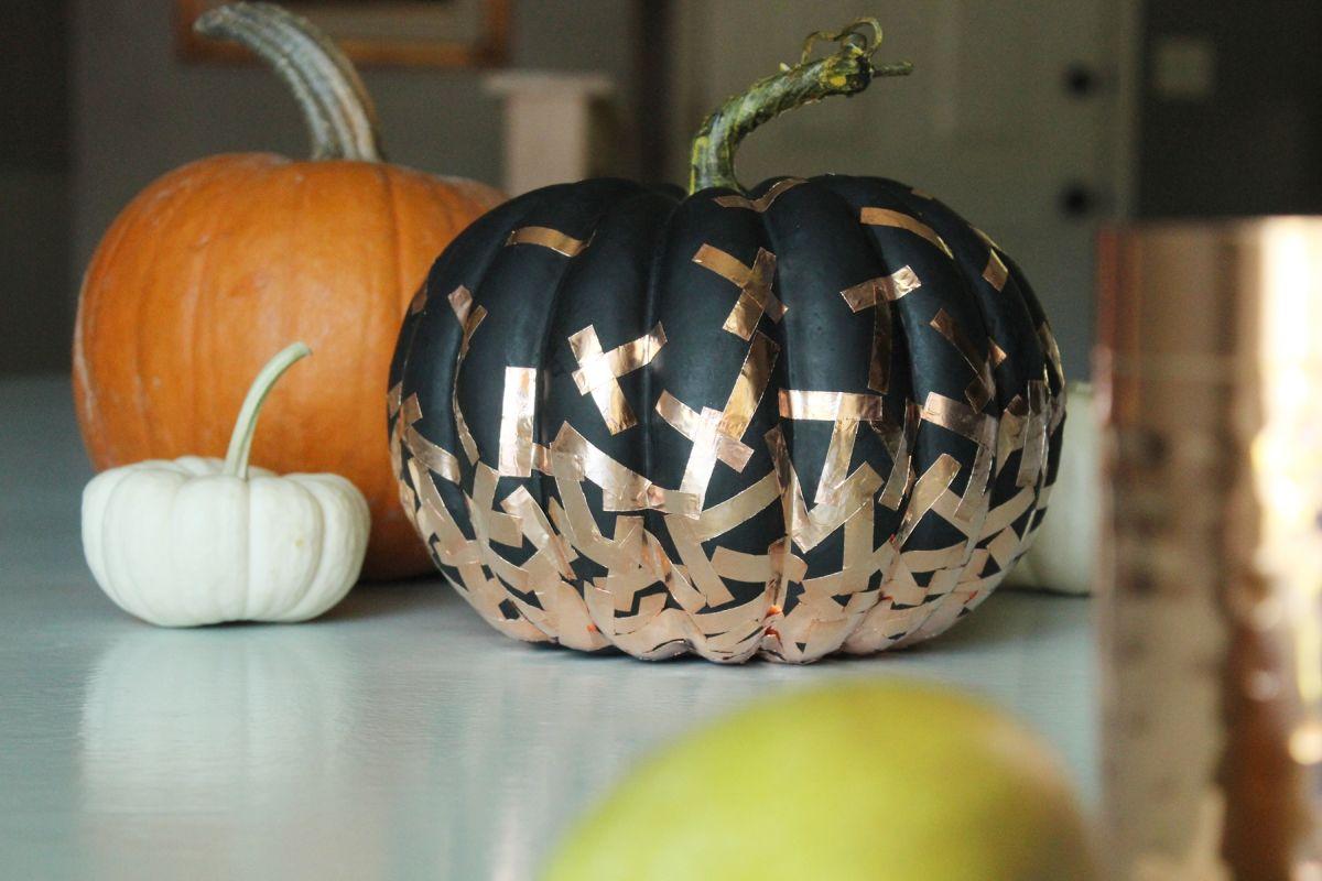 Confetti halloween pumpkin ideas