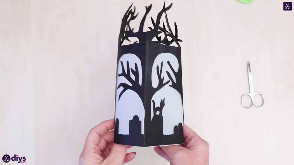 Diy paper lantern halloween crafts
