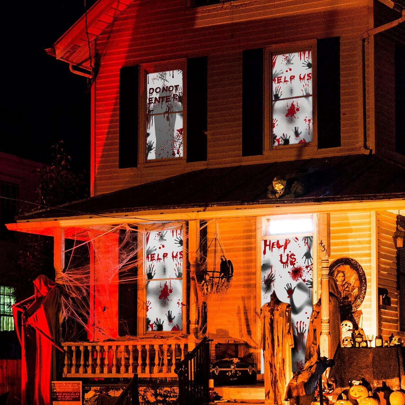 Door decoration murder house