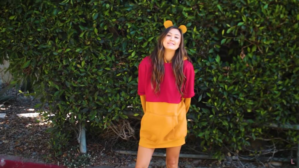 Easy cute last minute halloween costumes winnie the pooh bear