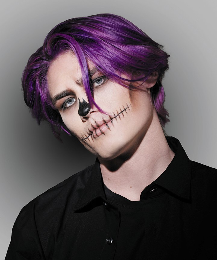 Easy halloween makeup classic ghoul