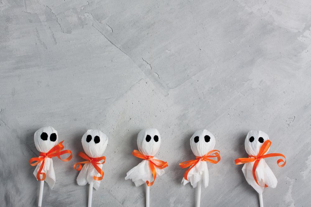 Halloween lollipops healthy halloween treats to hand out