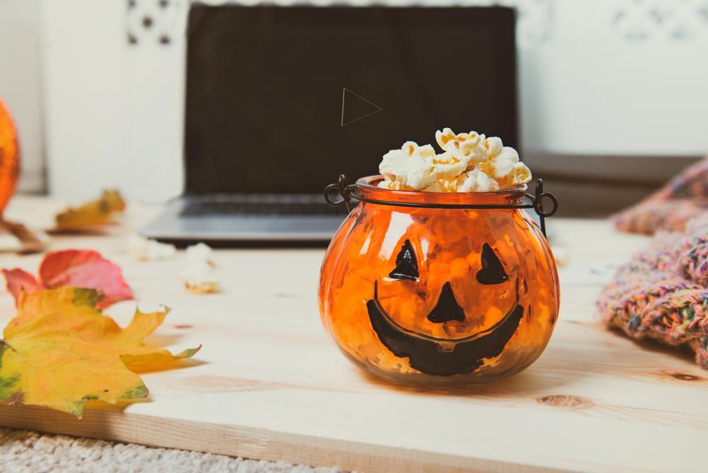 Halloween movie pumpkin