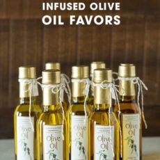 Infused olive oil favours