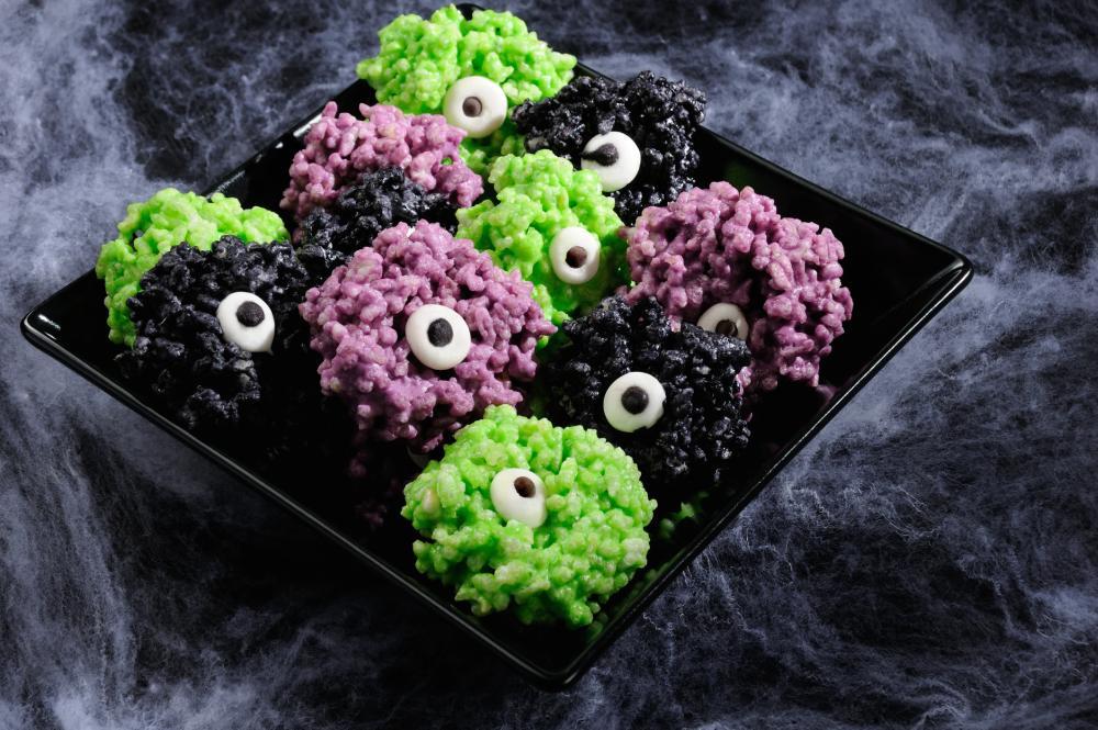 Monster eye balls halloween finger food ideas