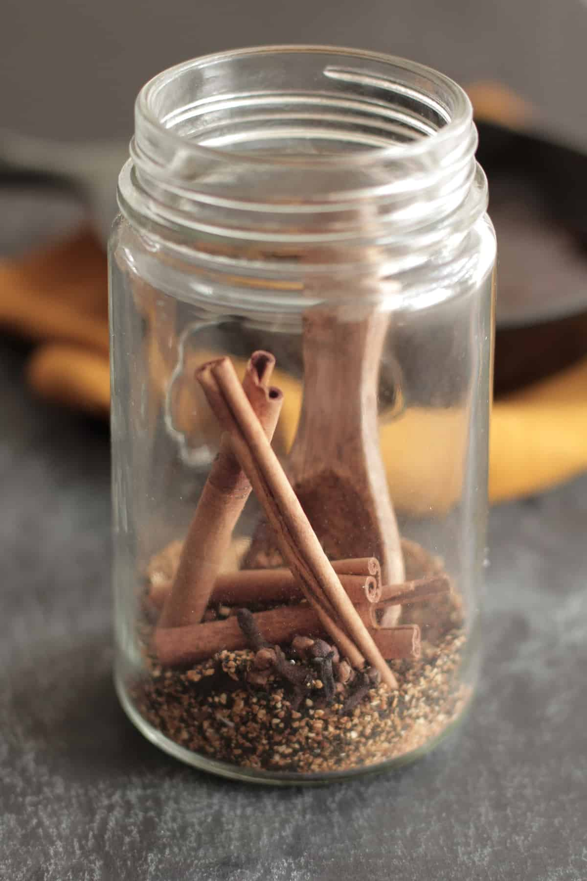 Natural diy cinnamon air freshener