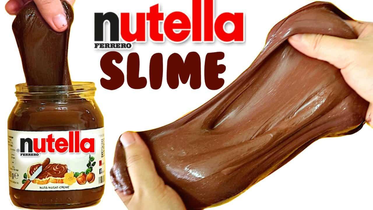 Nutella slime