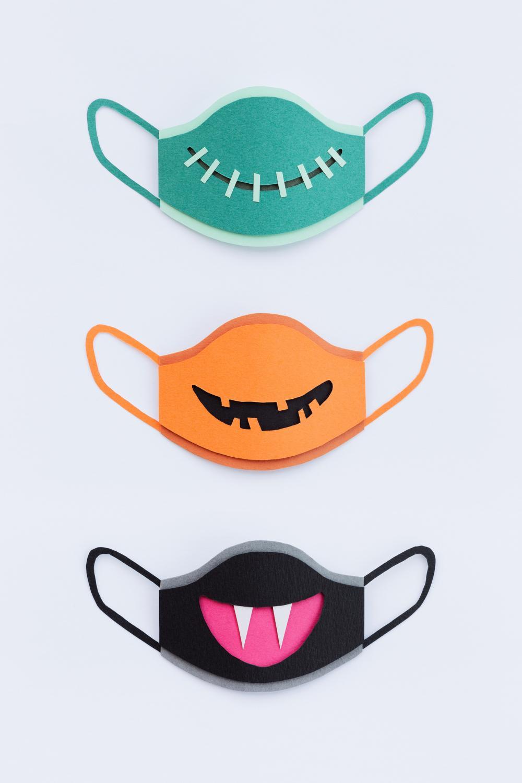 Paper facemasks halloween crafts
