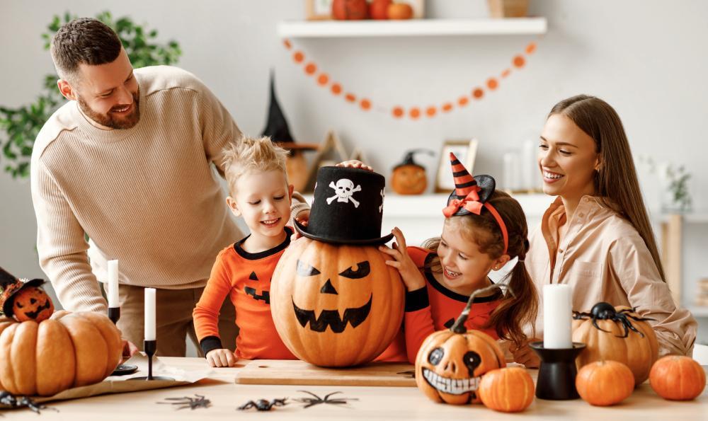 Pirate halloween pumpkin