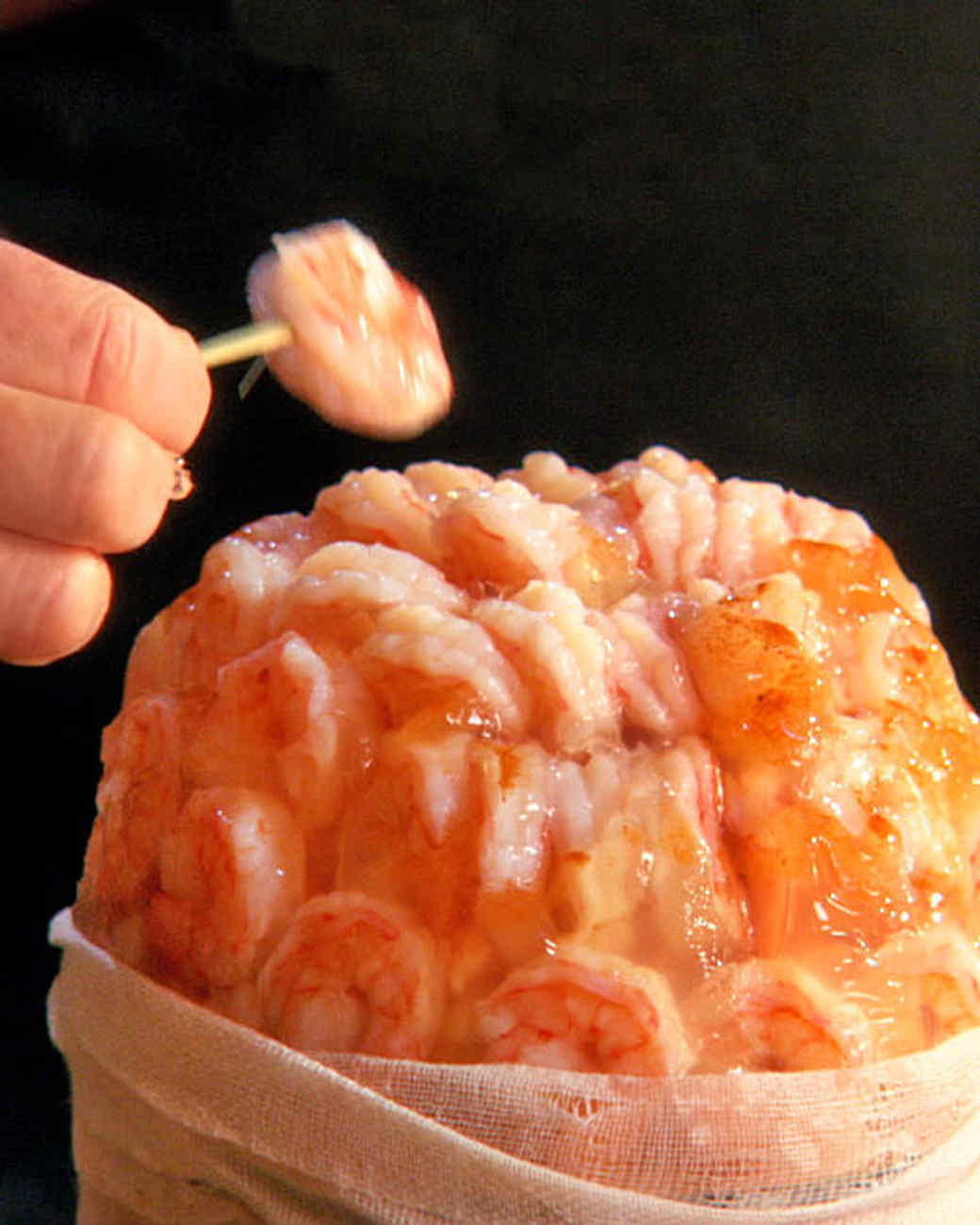 Shrimp cocktail brain