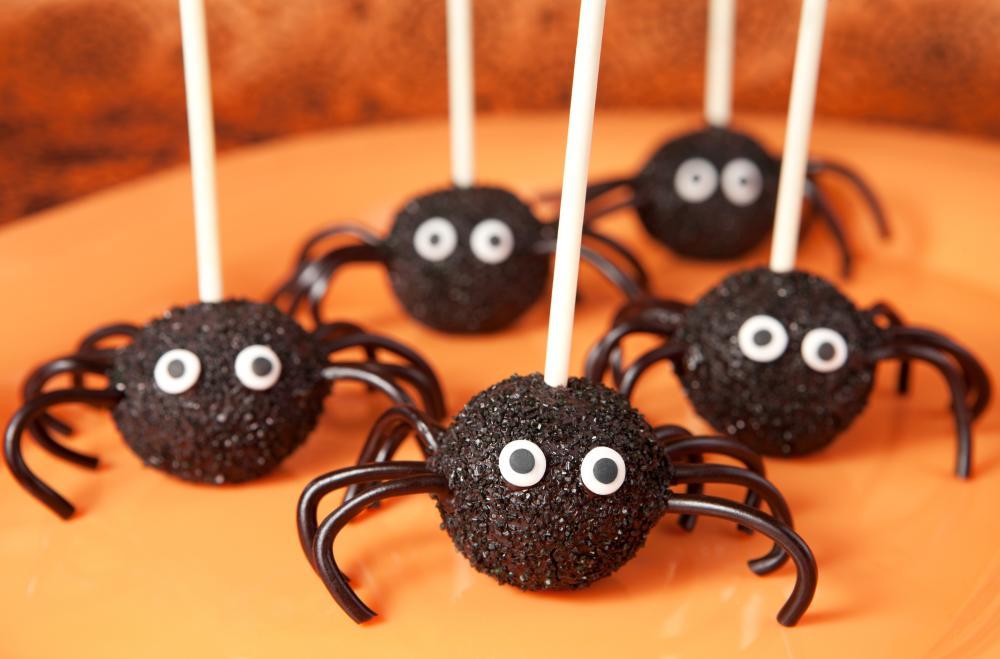 Spider cake pops spider craft